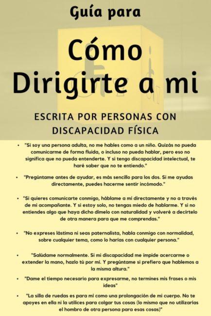 Guía Fácil De Inclusión Con Discapacitados Motóricos