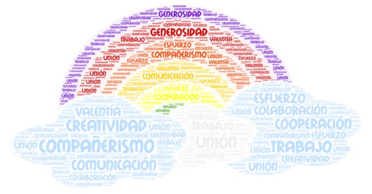 arco iris consejos confinamiento